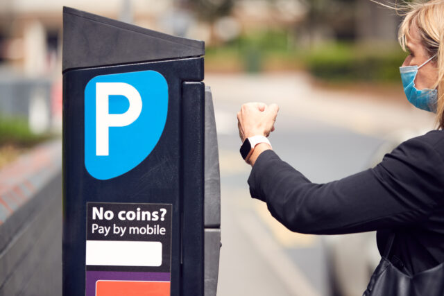 Contactless Payments at Parking Site